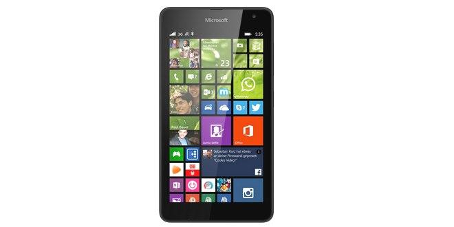 Nokia Lumia 535 ohne Vertrag
