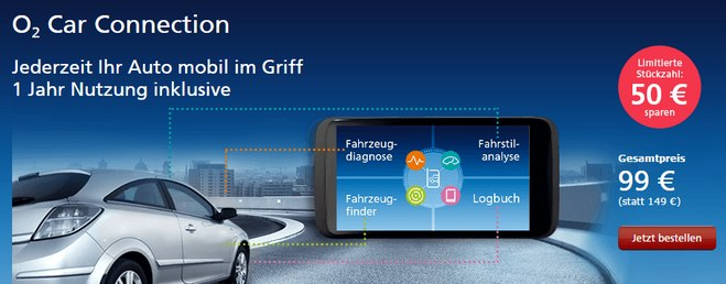 o2 Car Connection Angebot
