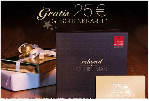 Outletcity Metzingen Geschenkkarte