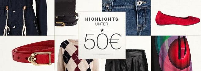 Outletcity Metzingen Style Sale mit Styles unter 50 €