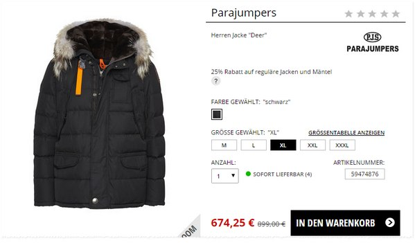 Parajumpers Jacken