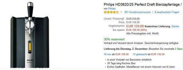 Philips Perfect Draft