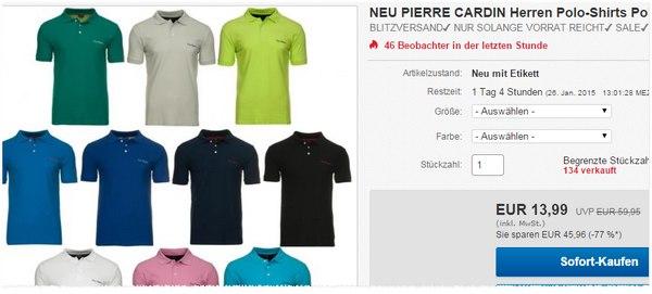 Pierre Cardin Polos