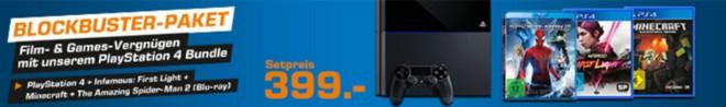 PS4 Blockbuster Paket von Saturn