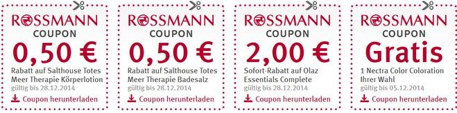 Rossmann Coupons Dezember