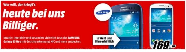 Samsung Galaxy S3 Neo bei Media Markt