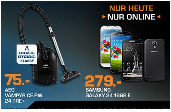 Samsung Galaxy S4 ohne Vertrag für 279 €
