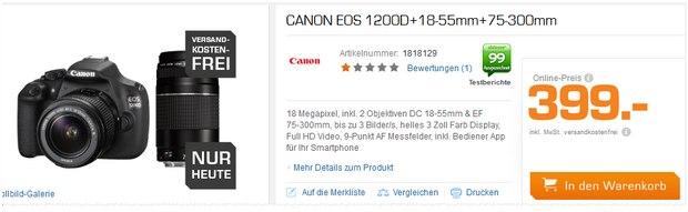Saturn mit Canon EOS 1200 D 18-55 75-300