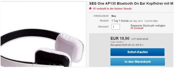SEG One AP 130 Kopfhörer bei eBay
