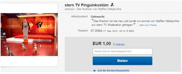 Stern TV eBay Auktion