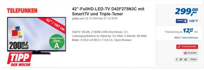 Telefunken D42F275N3C