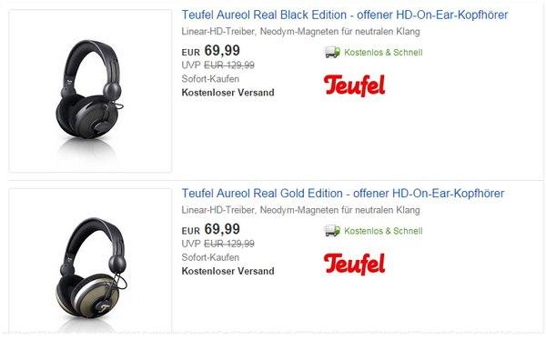 Teufel Aureol Real Kopfhörer