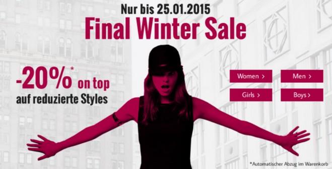 Tom Tailor Final Winter Sale