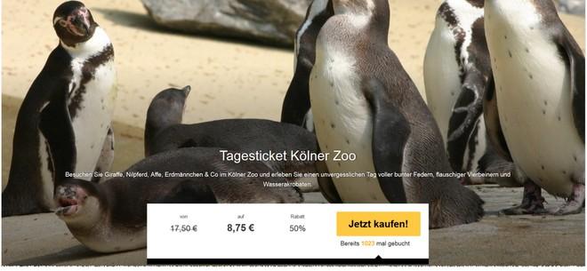 Zoo Köln Gutschein