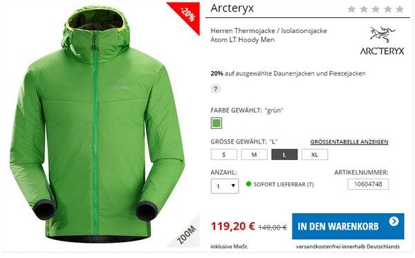 Arc'teryx Atom LT Hoody Men