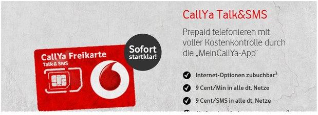 CallYa Freikarte Testbericht