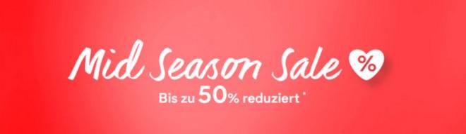 C&A Mid Season Sale 2015 mit bis zu 50% Rabatt