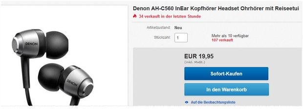 Denon AH-C560 Angebot