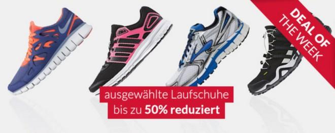 Engelhorn Sports Aktion mit günstigen Laufschuhen