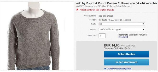 Esprit edc Pullover