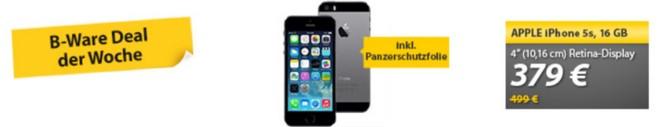 iPhone 5s B-Ware-Preis