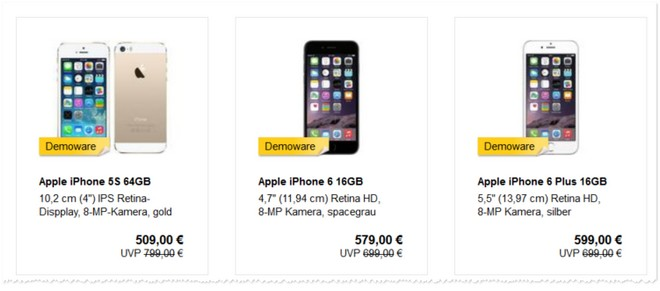 iPhone 6 B-Ware-Angebote