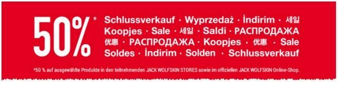 Jack Wolfskin Sale 2015/2016