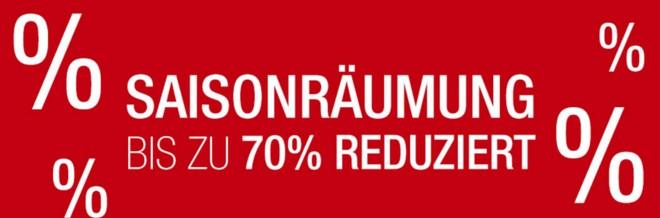 Kaufhof Sale mit Saisonräumung-Rabatt