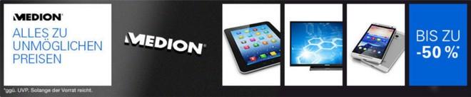 Medion Sonderverkauf mit Restposten & B-Ware