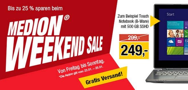Medion Weekend Sale