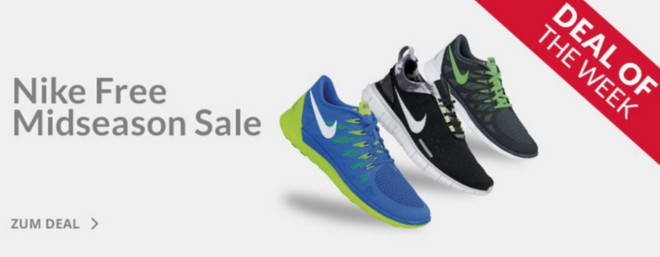 Nike Free Mid-Season Sale