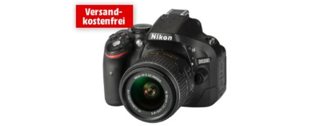 Nikon D 5200+18-55mm VR II