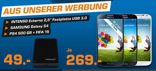 Samsung Galaxy S4 ohne Handytarif-Vertrag kaufen