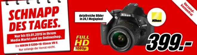 Schapp des Tages Nikon Kamera