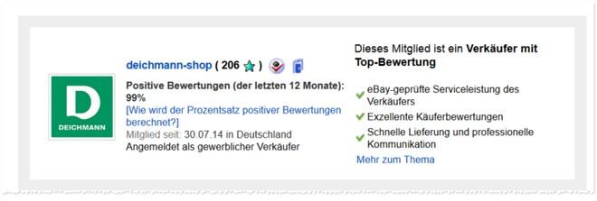 Deichmann eBay Shop
