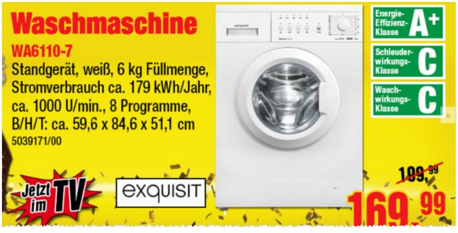 Exquisit WA6110-7