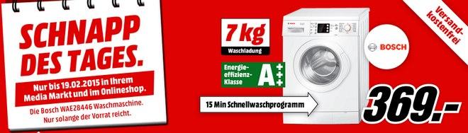 Media Markt Schnapp des Tages Werbung am 19.2.2015