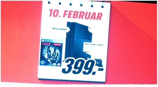 Sony PS4 + Evolve als Media Markt Schnapp des Tages vom 10.2.2015