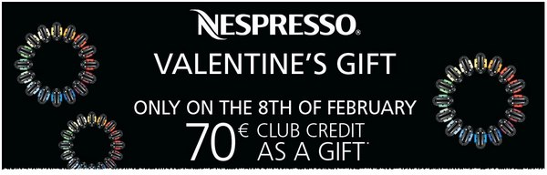 Nespresso Valentinsaktion