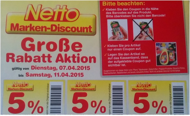 netto rabattcoupons 2015 zum ausdrucken. Black Bedroom Furniture Sets. Home Design Ideas