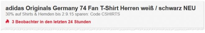 eBay Gutschein im Outfitter Shop: Extra-Rabatt