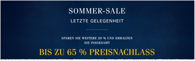 Ralph Lauren Sommer-Sale 2015