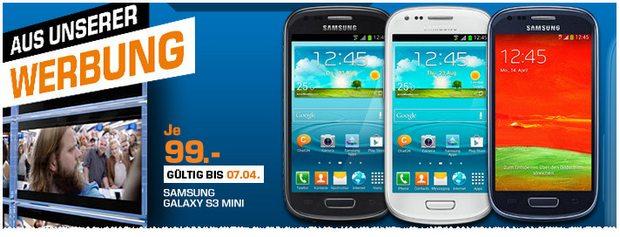 Samsung Galaxy SIII mini ohne Vertrag
