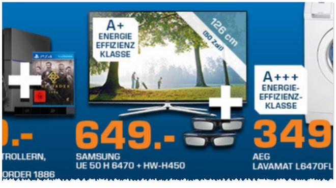 Samsung UE50H6470 Werbung