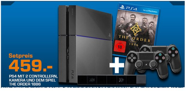 Sony PlayStation 4 + The Order 1886 Bundle