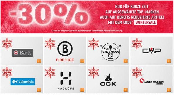 SportScheck Winterschlussverkauf