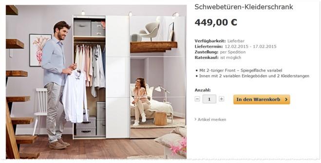 tchibo kleiderschrank mit 10 gutschein. Black Bedroom Furniture Sets. Home Design Ideas