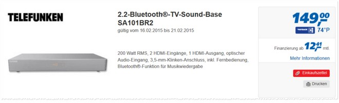 Telefunken SA101BR2