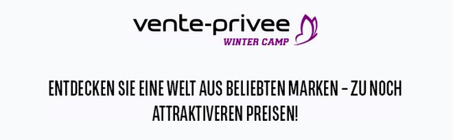 Vente Privee Winter-Camp