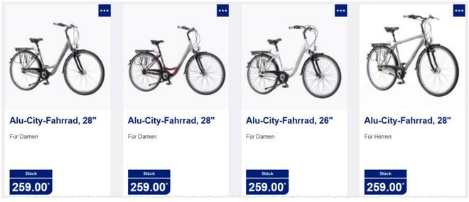 ALDI Alu-City-Fahrräder